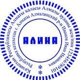 Образец печати для ИП №10