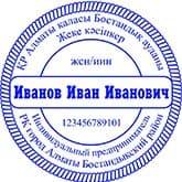 Образец печати для ИП №12